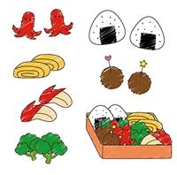 幼稚園の運動会のお弁当