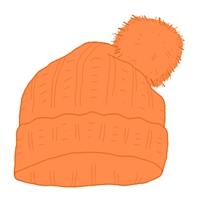 ニット帽のかぶり方