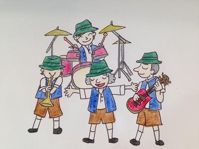 オクトーバーフェストのバンドショー